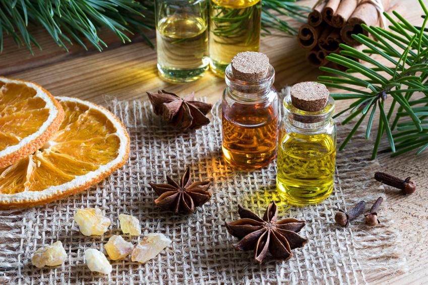 Ätherische Öle zu Weihnachten
