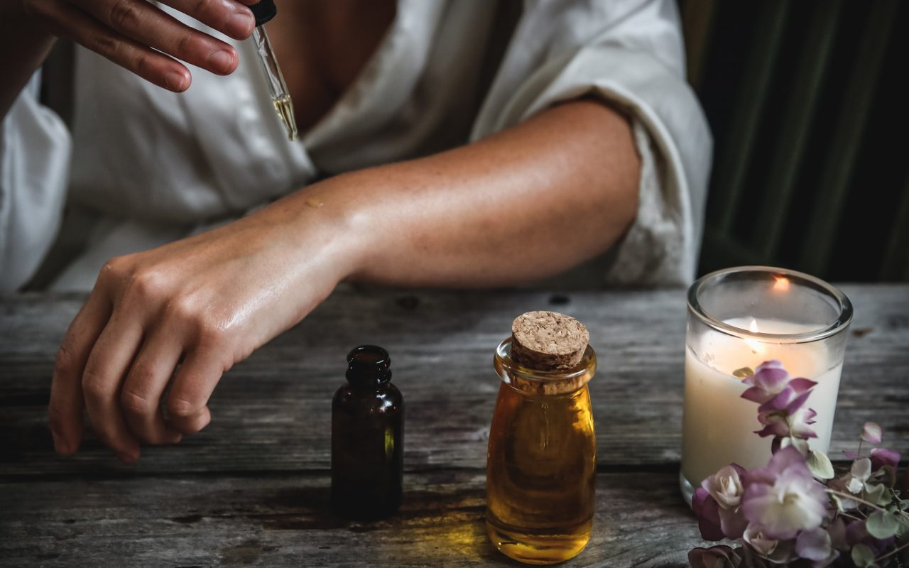 Trockene Haut Hautöl vom Tiroler Kräuterhof