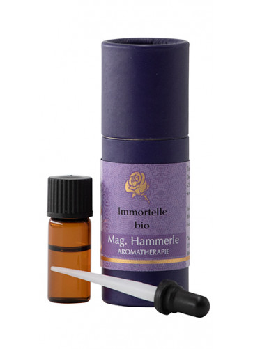 Immortellenöl bio - ätherisches Öl Immortelle bio
