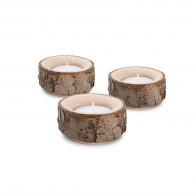 Kerzenständer Holz