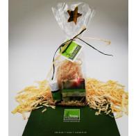 Zirben Geschenkset ✶ Duftset ✶ mit Zirbenseife, Zirbenflocken und 5 ml Zirbenöl bio