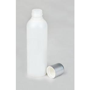 PP Flasche leer, opak mit Spritzeinsatz