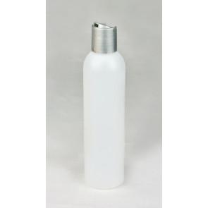 Rundflasche natur Disctop silber 200ml