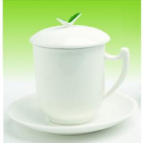 Porzellan Tee Tasse mit Edelstahlfilter