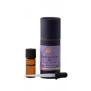 Vanilleöl gel. i. Bio-Alk. - ätherisches Vanilleöl
