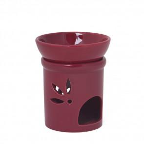 Keramik Duftlampe bordeaux