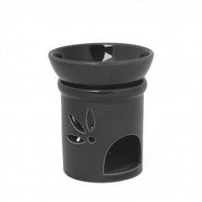 Keramik Duftlampe schwarz