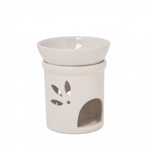 Keramik Duftlampe creme