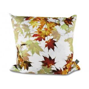 Zirbenkissen Motiv Herbstblätter