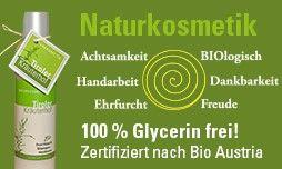 Naturkosmetik Biokosmetik